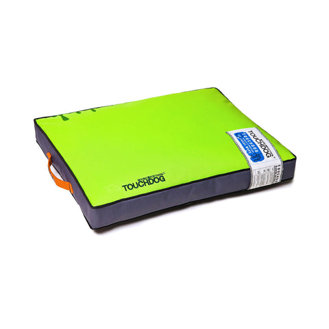 Touchdog Surface-Control Reversible Thick Cushioned Travel Sporty Dog Mat - Green