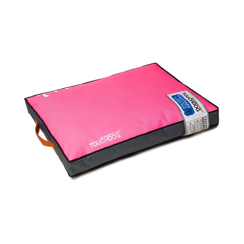 Touchdog Surface-Control Reversible Thick Cushioned Travel Sporty Dog Mat - Pink
