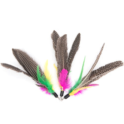 MorePets Teaser Wand Feather Refill 3 pack