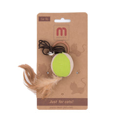MorePets Premium Everyday Cat Toy - Ball Teaser
