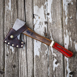 Old Henry Red vintage Hatchet collection