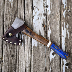 Old Henry Viper Blue vintage Hatchet collection