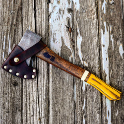 Old Henry Yellow vintage Hatchet collection