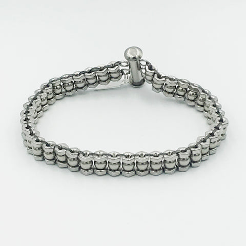 Stainless Steel Bicycle Chain Bracelet