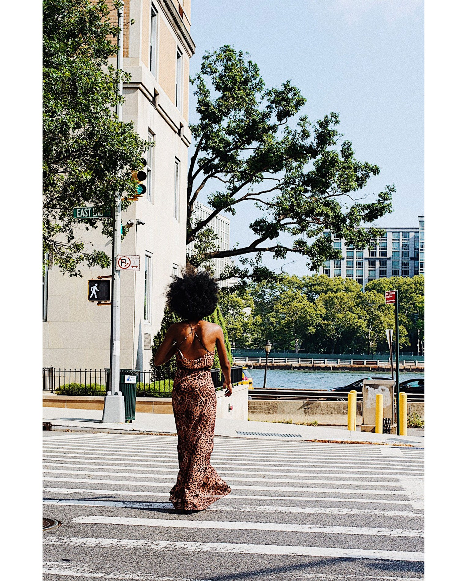 Kamara Williams | The Vetiver Collection | Love Is The Drug Leopard Slip Dress