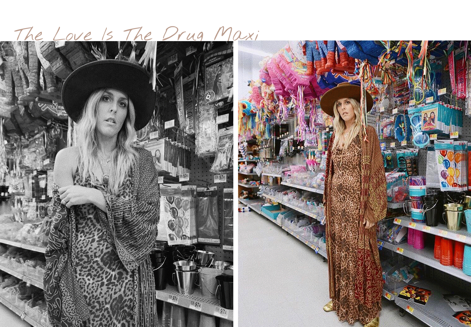Vetiver Girls | Bjonesstyle | Love Is The Drug Leopard Maxi