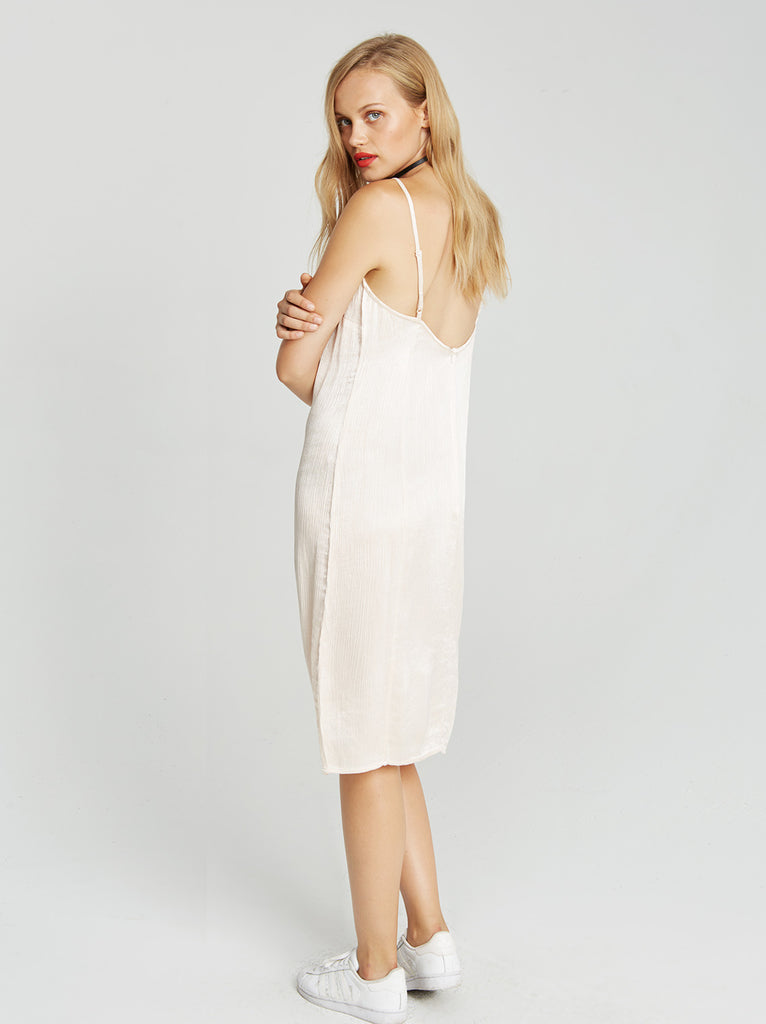 Pam Slip Dress - Vetiver
