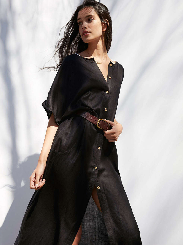 The Vetiver Collection | Patti Shirt Dress