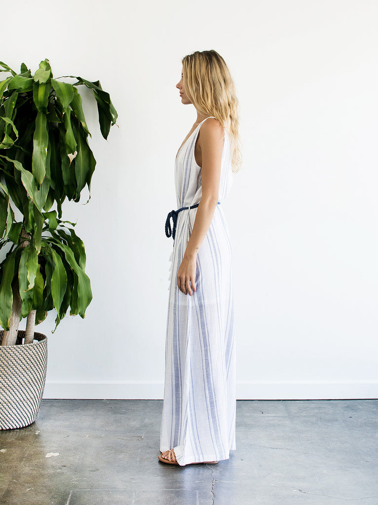 The Vetiver Collection | Sweetwater Wide Leg Jumpsuit