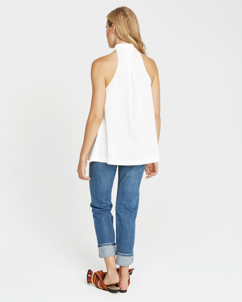 Winona Sleeveless Top - Vetiver