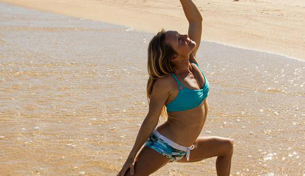Create Flexibility and Strength in Your Surfing With This Warrior Pose Variation