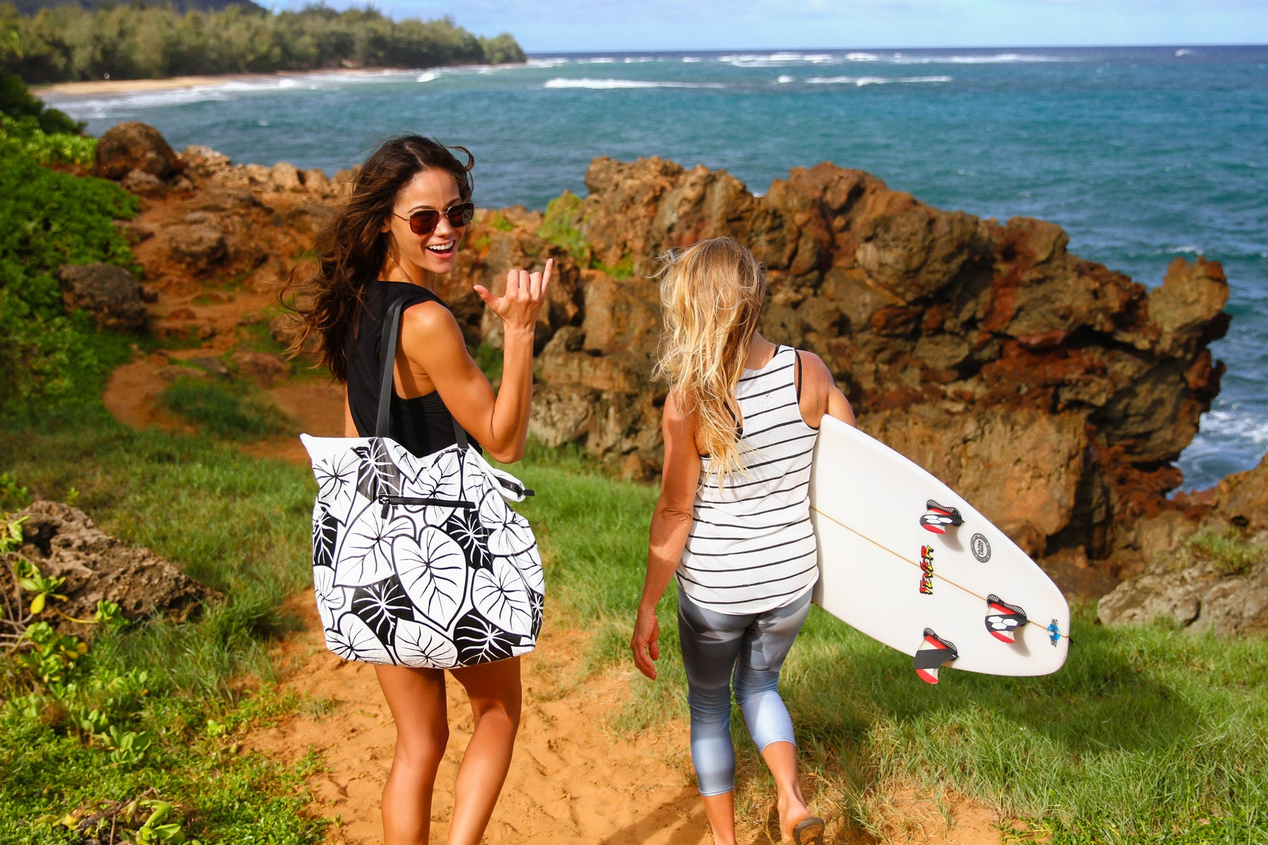 The Ultimate Day Bag and Christmas gift!  Taro Tote Bag collab with Aloha Collection