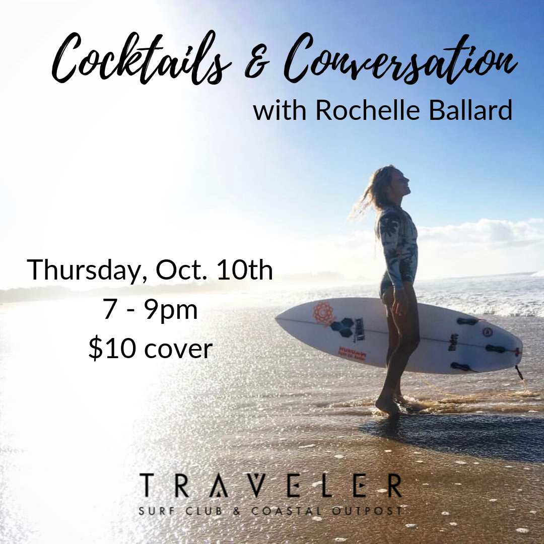 Cocktails & Conversations with Rochelle Ballard