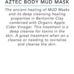 Aztec Body Mud Mask - Surf into Yoga
