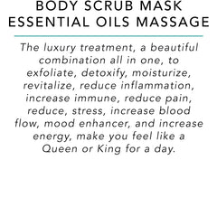 Body Scrub Mask Essential Oils Massage - Surf into Yoga