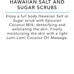 Hawaiian Salt and Sugar Scrubs - Surf into Yoga