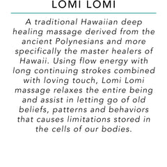 Lomi Lomi - Surf into Yoga