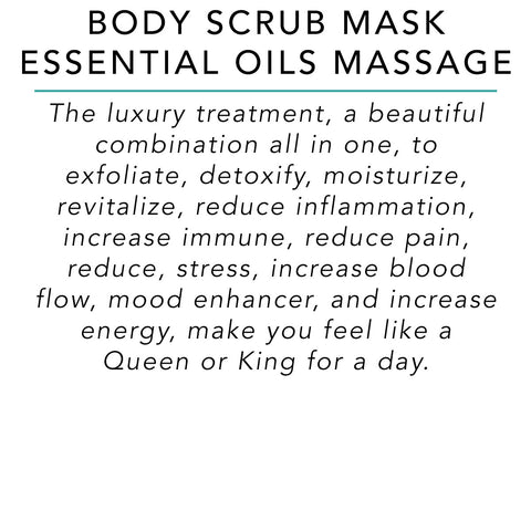 Body Scrub Mask Essential Oils Massage