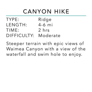 Canyon Hike