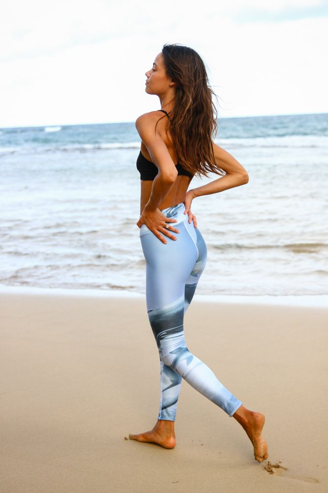 Momma Shark Yoga legging