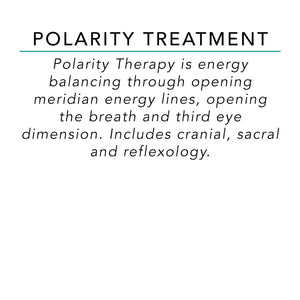 Polarity Treatment - 60 Minutes