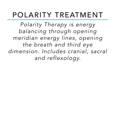 Polarity Treatment