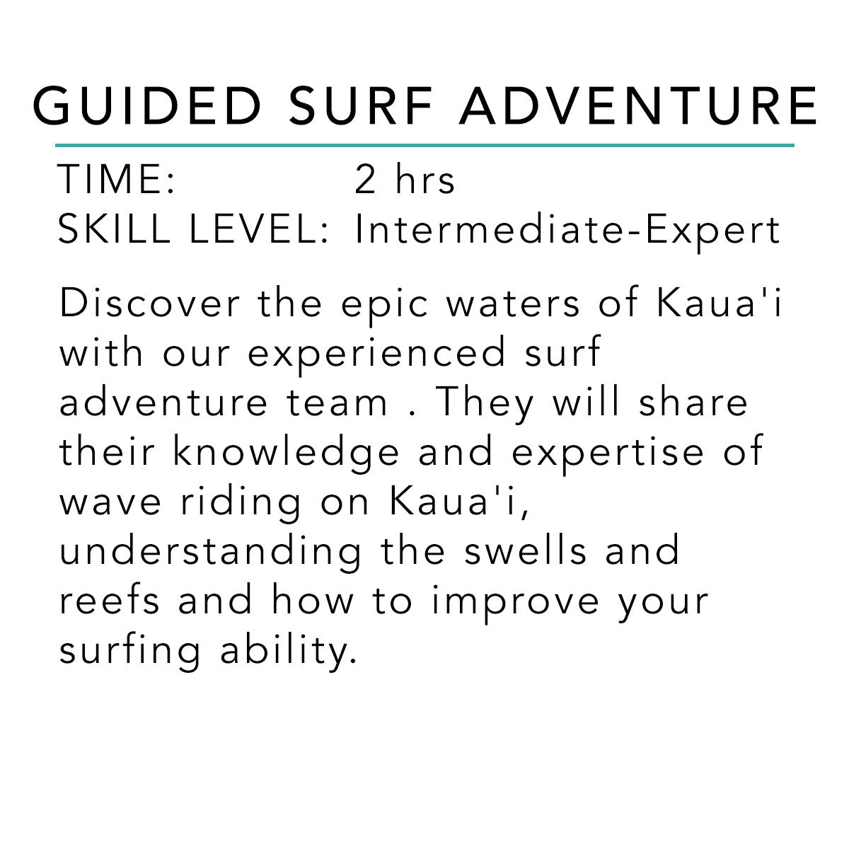 Guided Surf Adventure