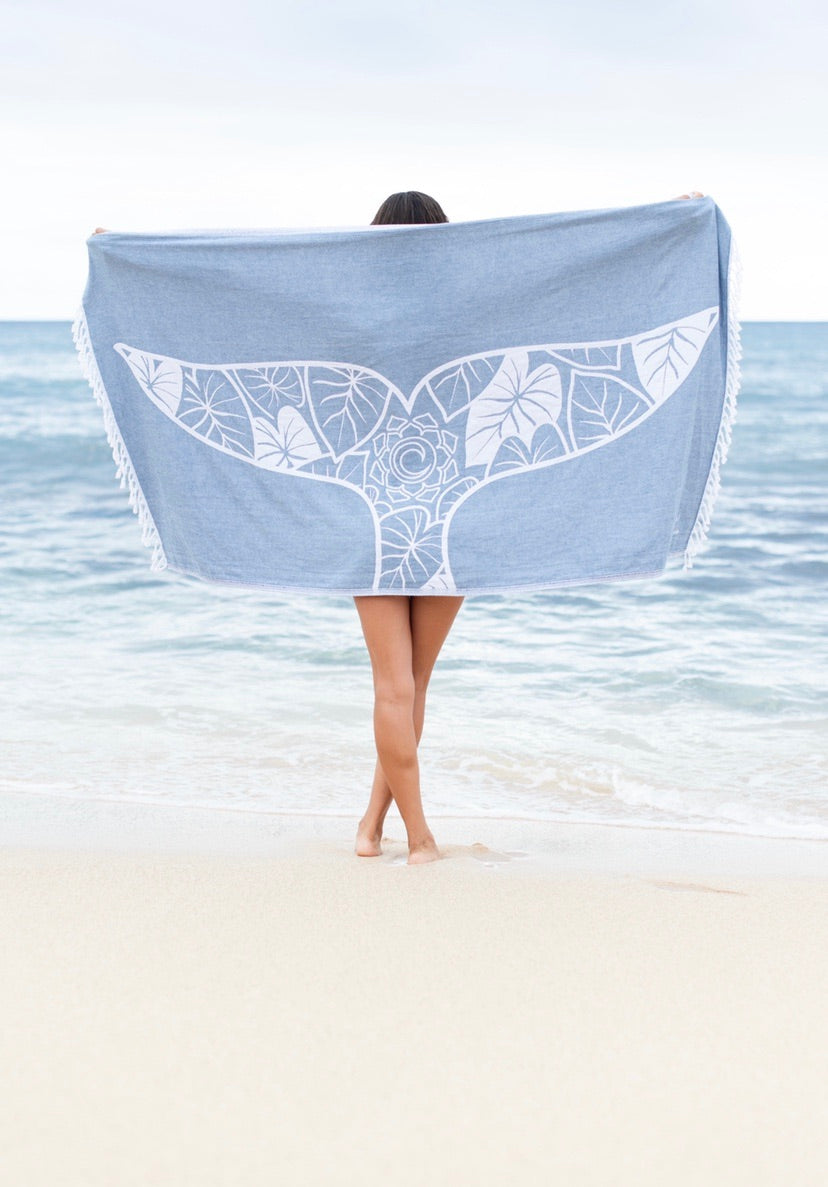 Whale Turkish Towel