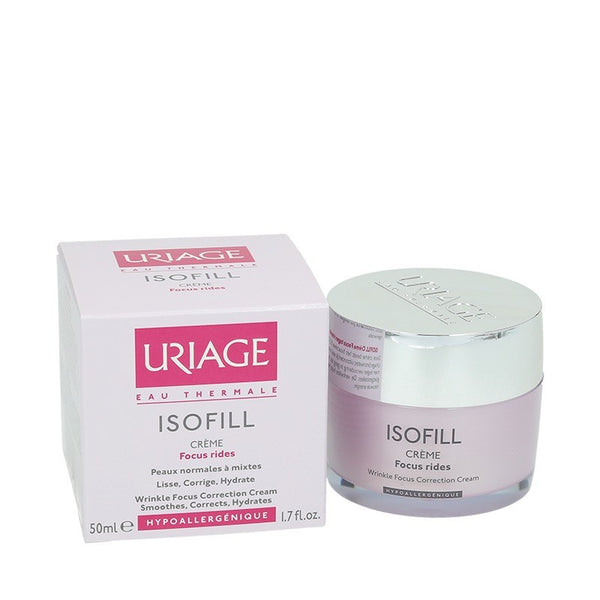 Uriage isofill cream for wrinkle focus and smothing for skin 50ml