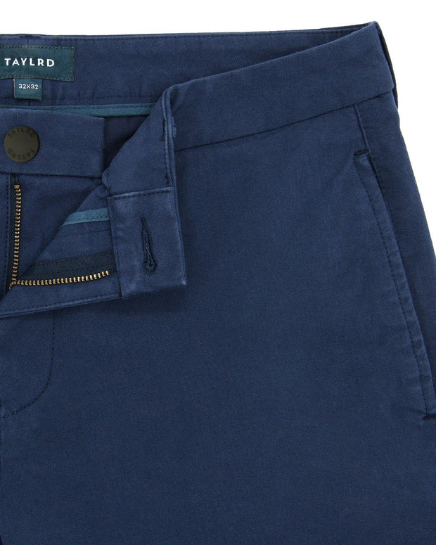 Standard Fit Blue | Tech Chino Pants