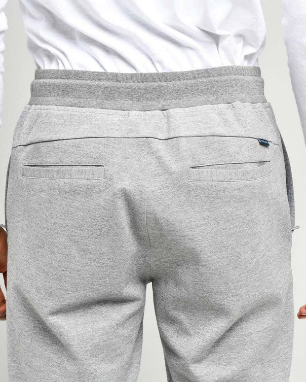 Grey Heather | Tech Joggers