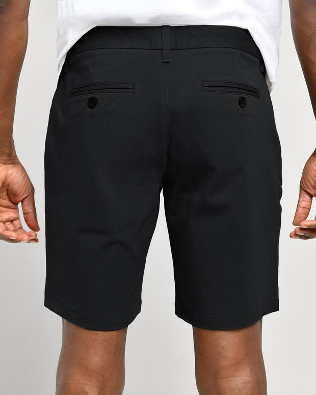 Black | Tech Chino Shorts