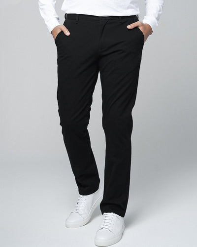 Black | Tech Chino Pants