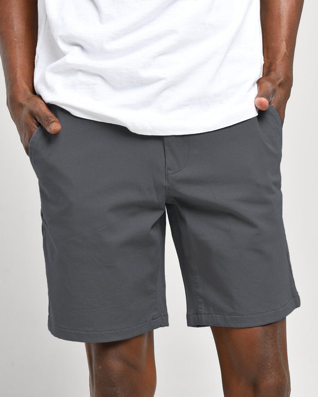 Blackened Pearl | Tech Chino Shorts