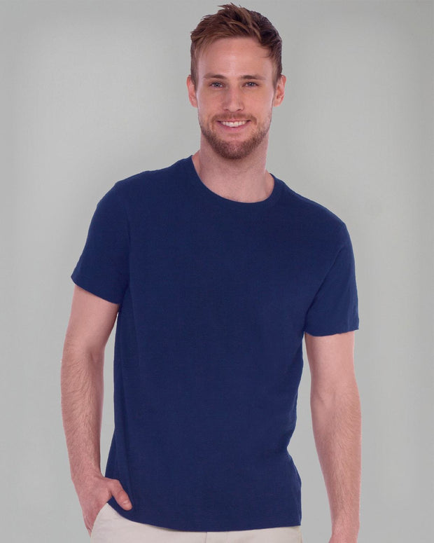 Navy Heather | Classic Slub Tee