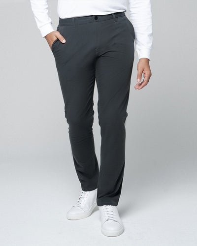 Charcoal | Tech Chino Pants