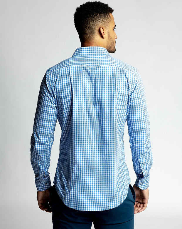 Light Blue Gingham