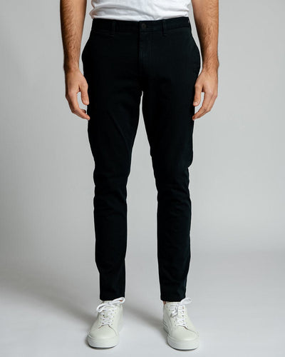 Standard Fit Black | Tech Chino Pants