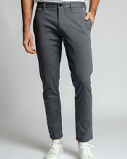 Standard Fit Grey | Tech Chino Pants