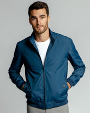 Marine Blue | Bomber Jacket