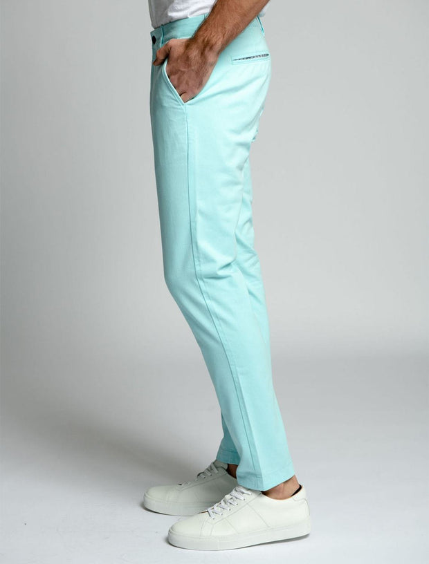 Turquoise | Stretch Chino Pants