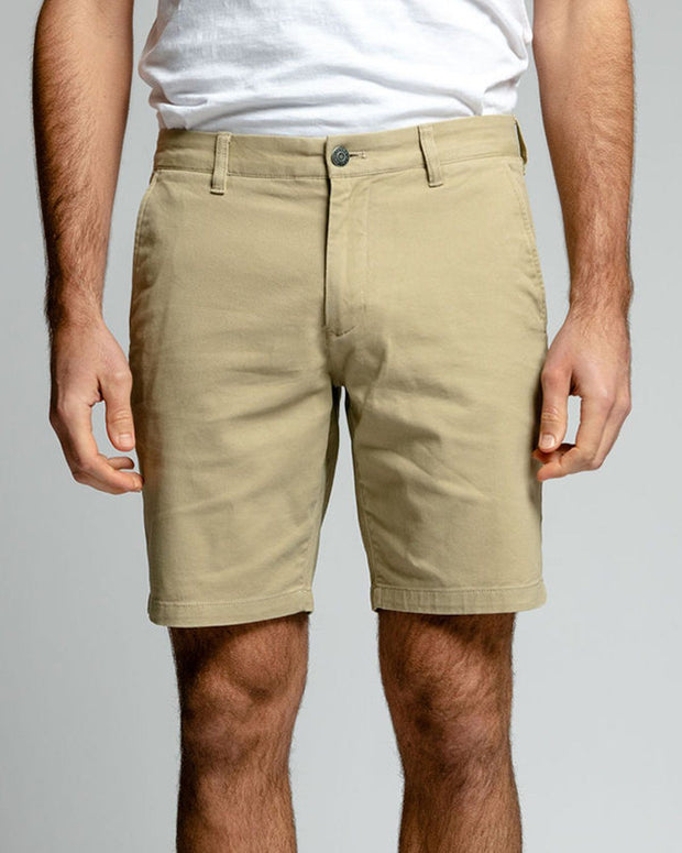 Desert Sand Stretch Chino Shorts