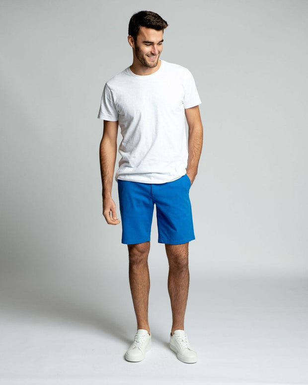 Royal Blue Stretch Chino Shorts
