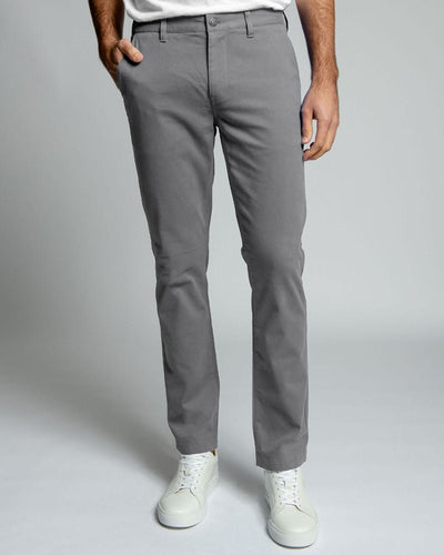 Slate Grey | Stretch Chino Pants