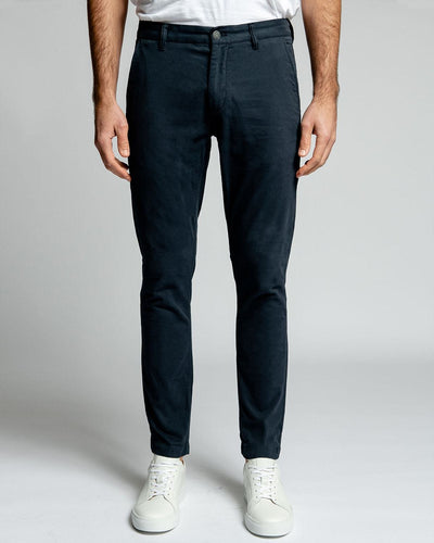 Midnight Blue Stretch Chino Pants