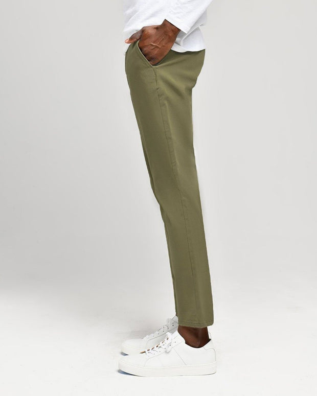 Olive | Tech Chino Pants