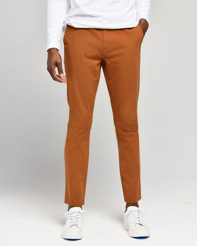 Rust | Tech Chino Pants