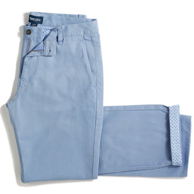 Light Blue Chino Pant (Final Sale) - TAYLRD