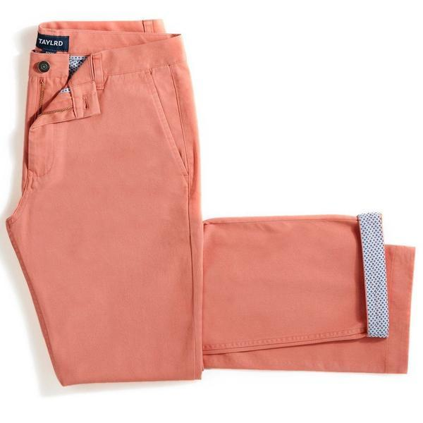 Salmon | Stretch Chino Pants