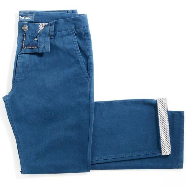 True Blue | Stretch Chino Pants (Final Sale)